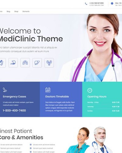 MediClinic-Medical-WordPress-Theme